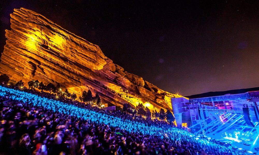 Ride to Red Rocks